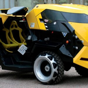 Land Rover Taxi Cabs For Judge Dredd Film 1