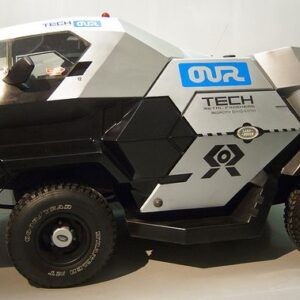 Land Rover Taxi Cabs For Judge Dredd Film 3